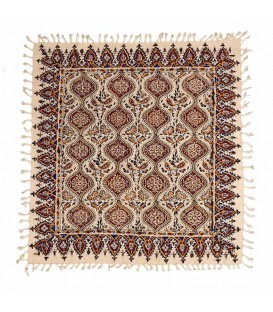 رومیزی سنتی قلمکار 80x80 طرح شماره 1