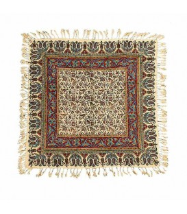 Ghalamkari tablecloth excellent 60x60 flower and leaves design