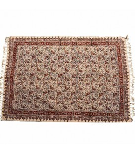 Ghalamkari traditional tablecloth 1x1.5 paisley