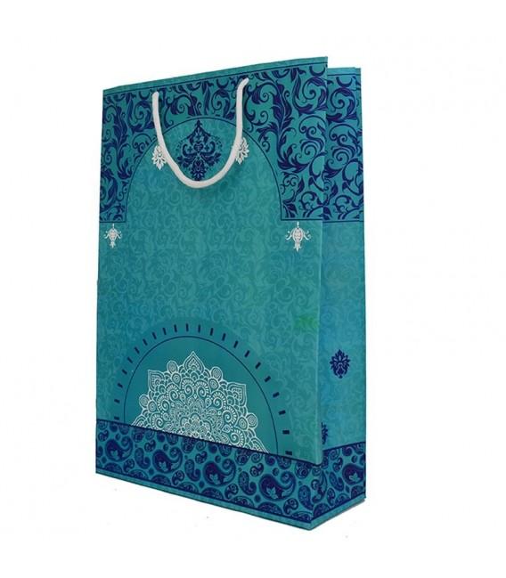 Gift bag paisley design