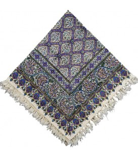 Ghalamkari tablecloth 1 m Sheikh Lotf Allah mosque tiles design