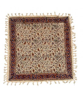 Ghalamkari tablecloth 60x60 traditional almond design