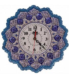 Minakari 30 cm clock arabesque professeur Amiri