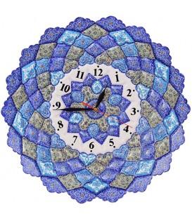Minakari 40 cm clock arabesque