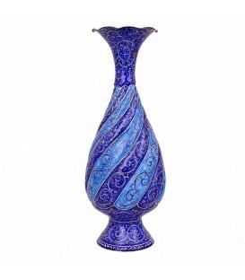 Minakari flower vase 25 cm arabesque