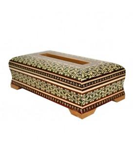 Khatamkari tissue box