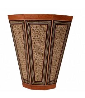 سطل خاتم کاری اصفهان با قطر 24 سانتیمتر