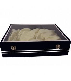 جعبه جیر نیم ست بشقاب و گلدان