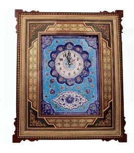 Khatamkari clock 30x40 cm