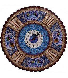 Khatamkari & Minakari clock round 38 cm