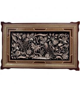 قاب قلمزنی اصفهان 40x80 سانتیمتر