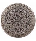Ghalamzani copper tray 40 cm flower design