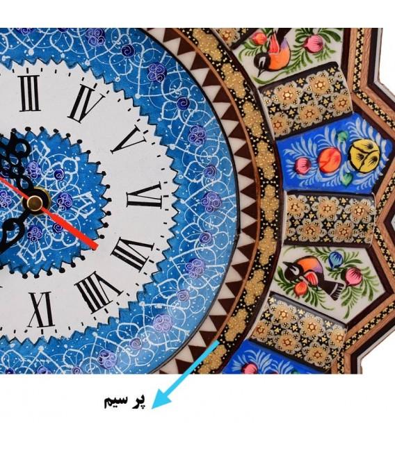 ساعت دیواری خاتم اصفهان