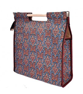 Termeh bag with wad layer