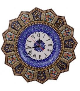 ساعت خاتم خورشیدی سایز 42 طرح گُل و مرغ
