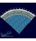 Ghalamkari round tablecloth 1 m excellent boteh design