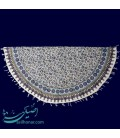 Ghalamkari tablecloth 1 m round excellent flower and boteh design