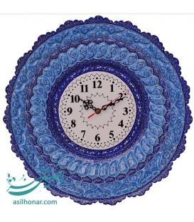Minakari clock 40 cm professor Taj