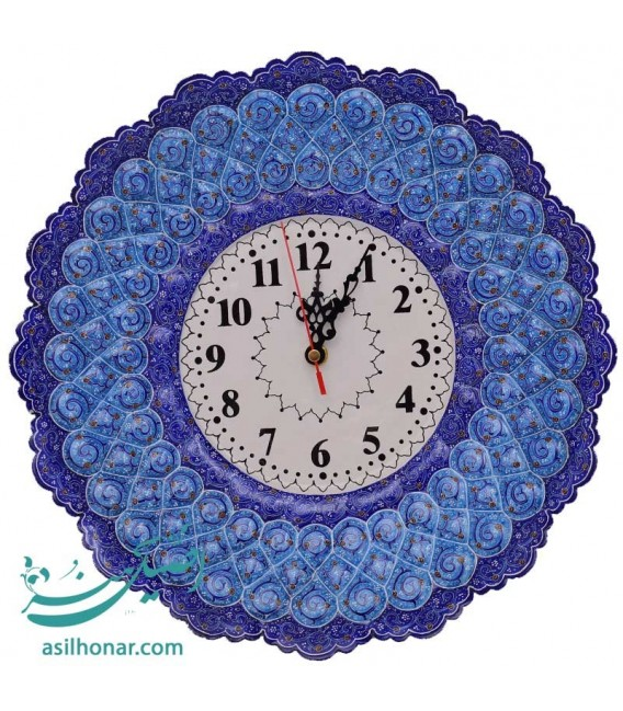 Isfahan minakari clock