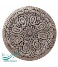 Isfahan ghalamzani copper tray 40 cm paisley design