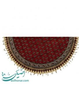 رومیزی قلم کاری اصفهان گرد قطر 1 متر اعلا پرکار صادراتی
