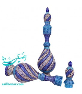 Minakari sake jug 38 cm arabesque khatai