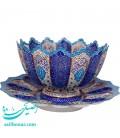 Minakari bowl and plate set 30 cm