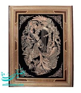 Ghalamzani frames 50x70 cm