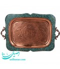 Turquoise inlaying tray