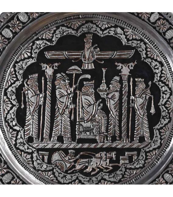 Ghalamzani copper tray