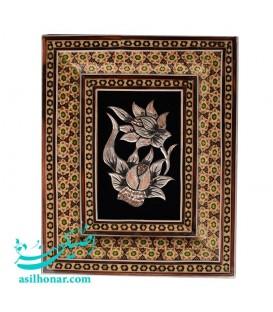 Khatamkari-ghalamzani frames 13x19 cm