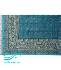 Ghalamkari tablecloth 240x160 cm prolific turquoise