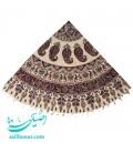 Ghalamkari round tablecloth 180 cm traditional