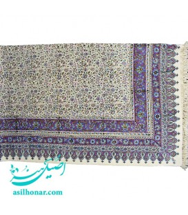 Ghalamkari rectangle tablecloth boteh design