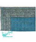 Ghalamkari tablecloth blue 200x135 cm