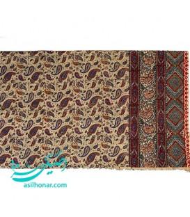 سفره قلمکار اصفهان 240x160 سانتیمتر طرح بوته درشت