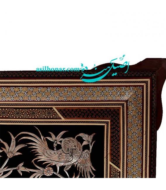 Khatamkari-ghalamzani frame