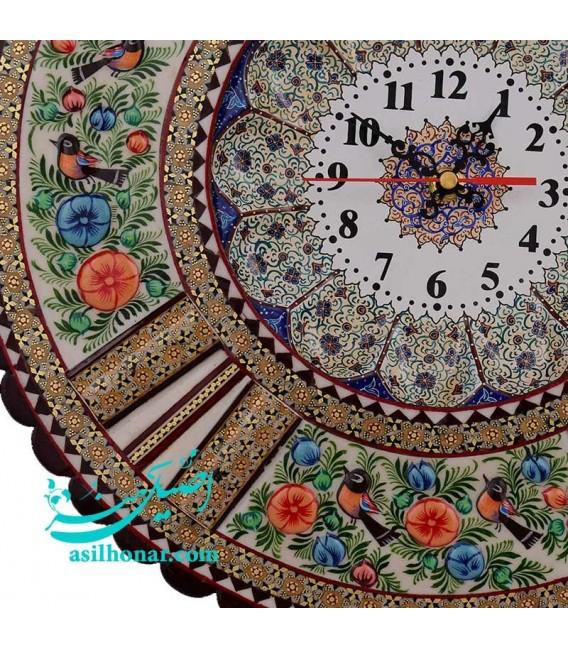Khatamkari & minakari clock