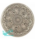 Ghalamzani copper tray round 50 cm