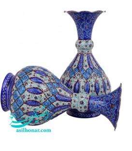Minakari flower vase 25 cm