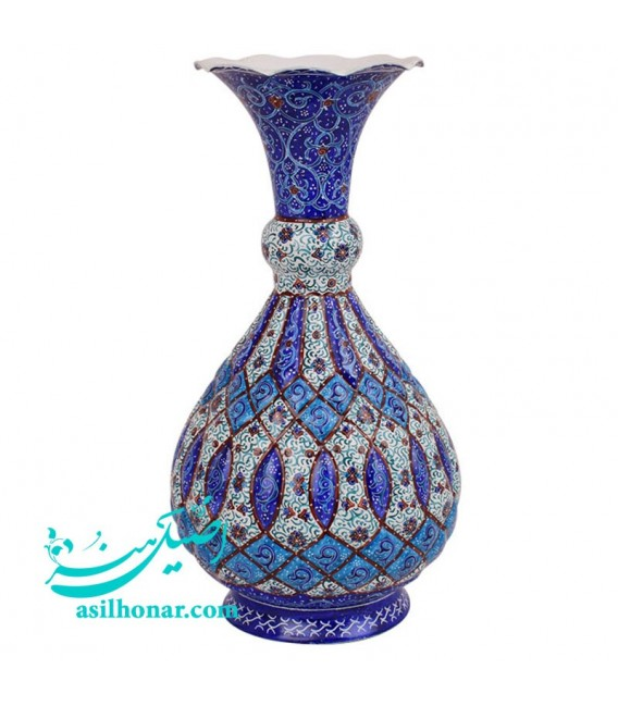 Minakari flower vase