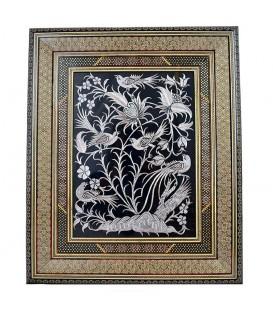 Ghalamzani frames with exquisite khatam