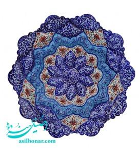 Minakari plate excellent quality 16 cm
