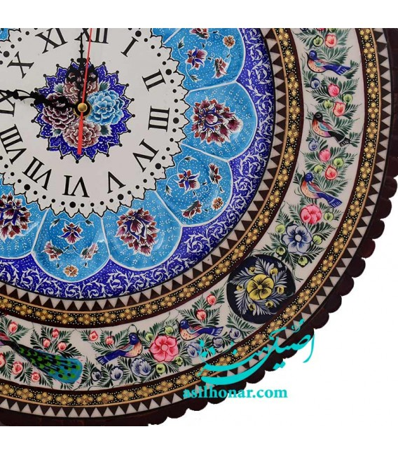 Khatamkari clock pardaz