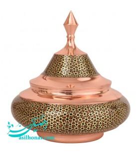 Khatamkari candy bowl size 4 ship design