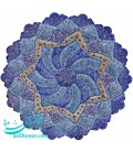 Isfahan minakari plate 30 cm excellent arabesque khatai