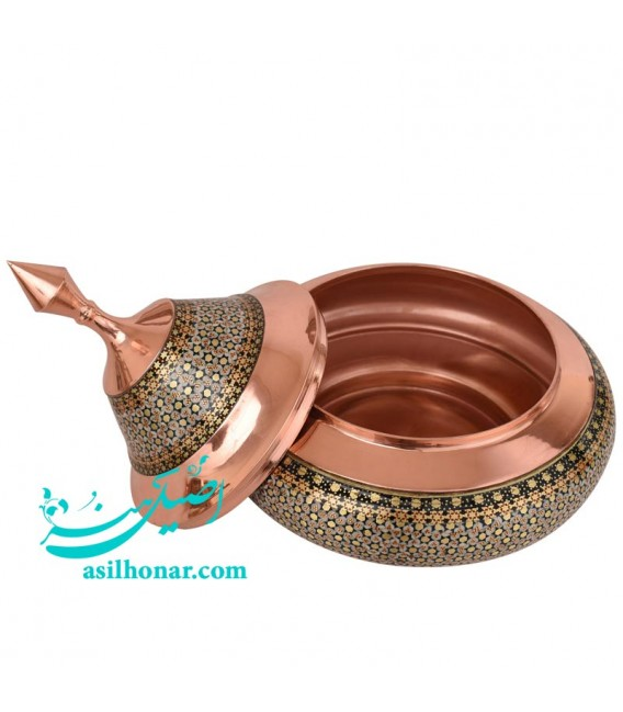 Isfahan khatamkari candy bowl