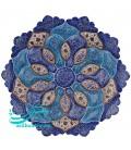 Minakari plate 20 cm arabesque khatai