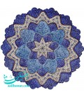 Minakari wall hanging plate 30 cm arabesque and flower