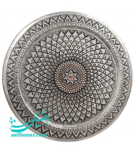 Ghalamzani copper tray diameter 50 cm